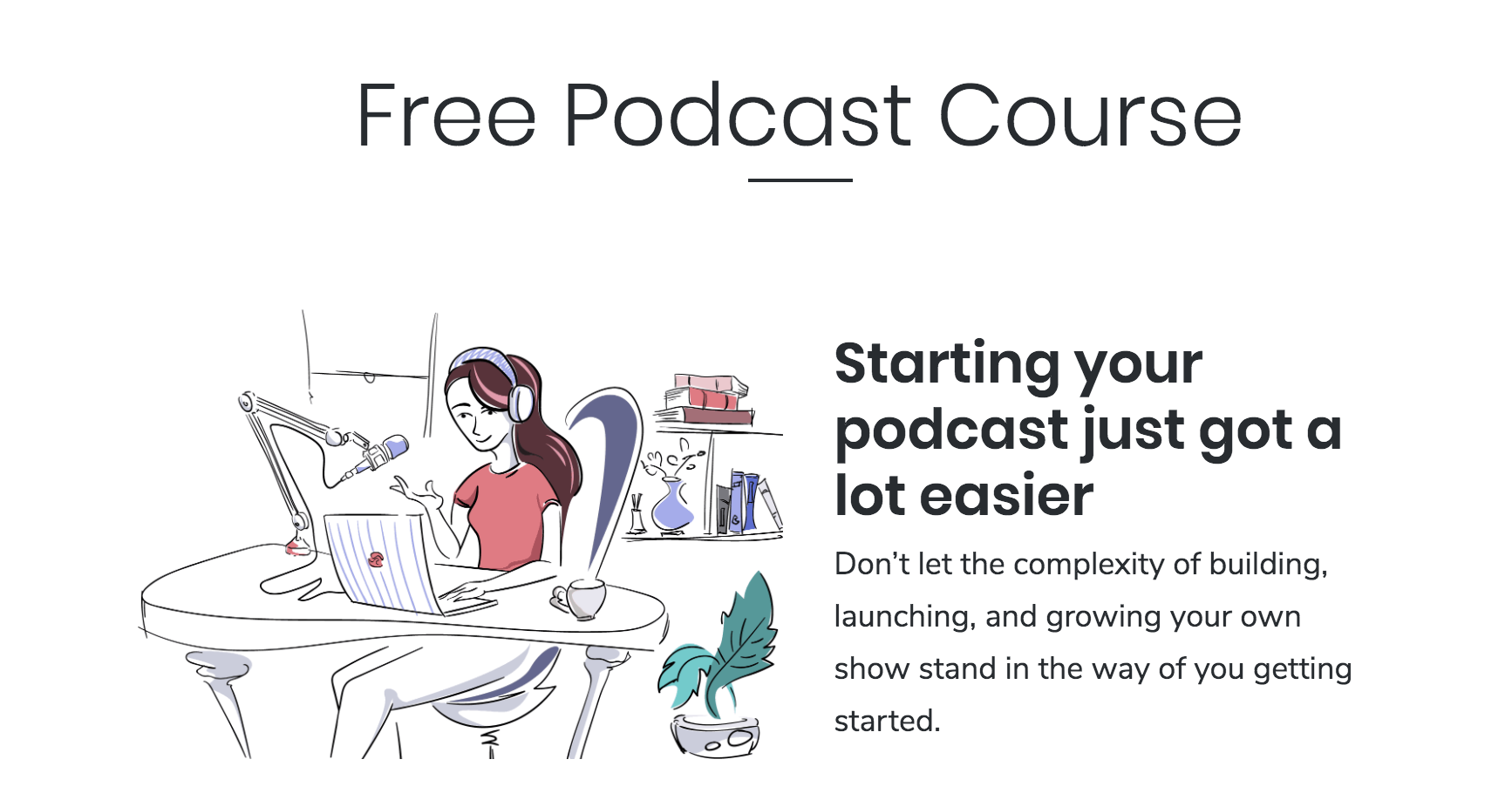 free podcast course